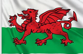 Drapeau de table Pays de Galles