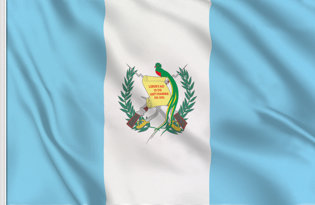 Drapeau de table Guatemala de Etat