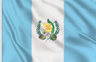 Drapeau de table Guatemala de Etat