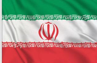 Drapeau de table Iran