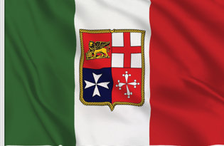 Drapeau de table Marine Italie