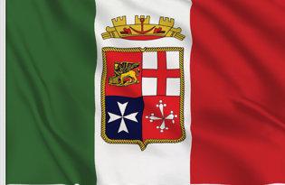 Drapeau de table Marine Militaire Italie