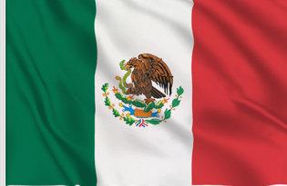 Drapeau de table Mexique