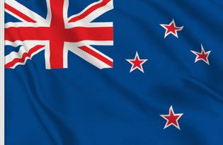 Drapeau de table Nouvelle-Zelande