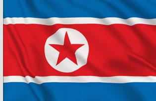 Drapeau de table Coree du Nord