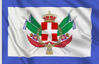Drapeau Royaume d'Italie (1861-1870)