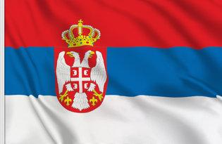 Drapeau de table Serbie Etat