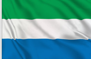 Drapeau de table Sierra Leone