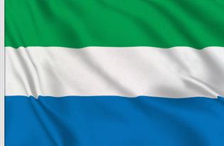 Drapeau de table Sierra Leone