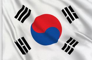 Drapeau de table Coree du Sud