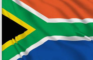 Drapeau de table Afrique du Sud