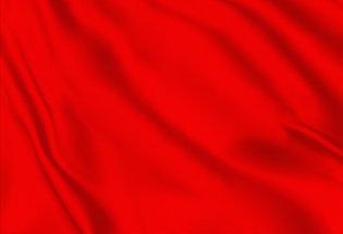 Drapeau de course rouge