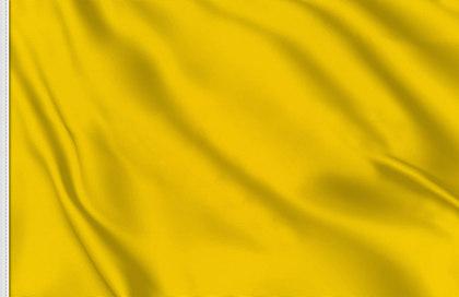 Drapeau de course jaune