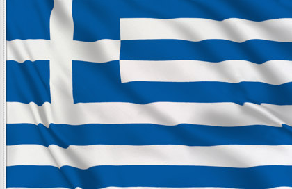 Drapeau de table Grece