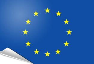 Drapeau adhésif Union Européenne