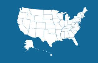 Drapeaux états américains