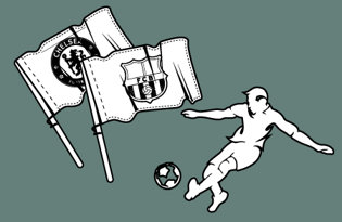 Drapeaux Football européen