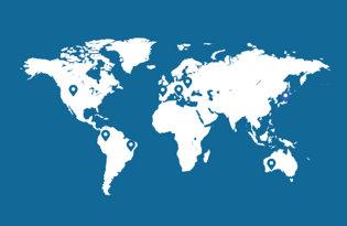 Drapeaux des villes reste du monde