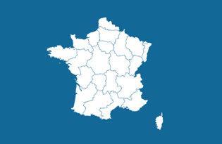 Drapeaux régions françaises