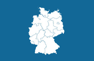 Drapeaux régions allemandes