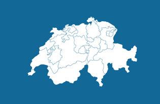 Drapeaux cantons suisses