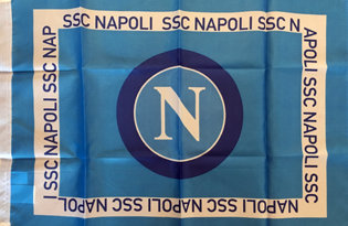 Drapeau SSC Napoli officiel