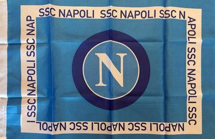 Drapeau officiel Napoli SSC