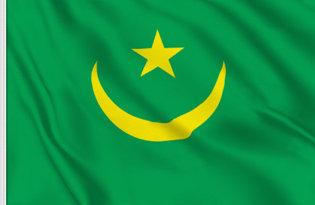 Drapeau de table Mauritanie Historique