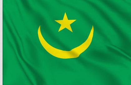 Drapeau Mauritanie (1958-2017)