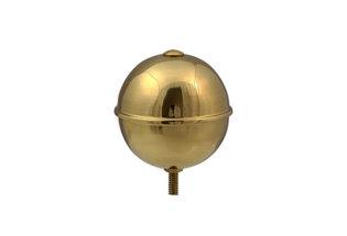 Pomme ronde pour hampe de diamètre 70 mm