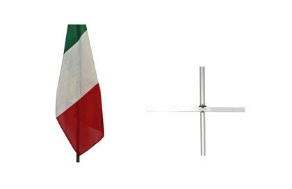Barre en plexiglas d'ouverture drapeau