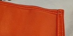 Couture renforcée périmetrale drapeau Haute-Autriche