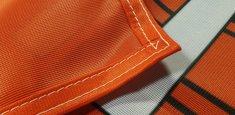 Couture renforcée périmetrale drapeau Vorarlberg