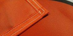 Couture renforcée périmetrale drapeau Salzbourg