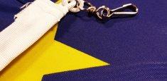 Mousqueton drapeau Union Européenne