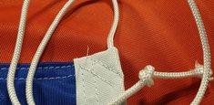 Raban et cordelette drapeau Hollande