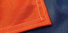 Couture renforcée périmetrale drapeau Russie