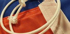 Raban et cordelette drapeau Russie