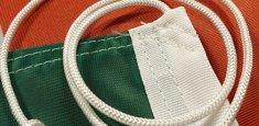 Raban et cordelette drapeau Hongrie