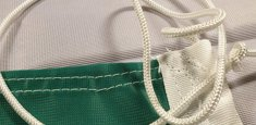 Raban et cordelette drapeau Irlande