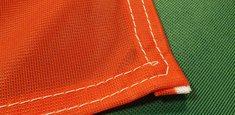 Couture renforcée périmetrale drapeau Bulgarie