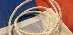 Raban et cordelette drapeau Serbie nationale