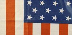 Impression à sublimation thermique drapeau Etats Unis / USA