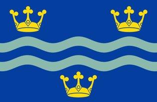 Drapeau Cambridgeshire