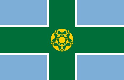 Drapeau Derbyshire