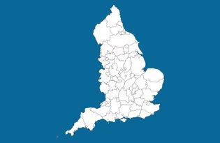 Drapeaux comtés anglais