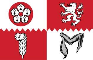 Drapeau Leicestershire