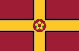 Drapeau Northamptonshire