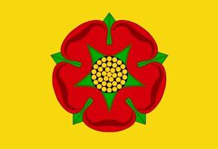Drapeau Lancashire