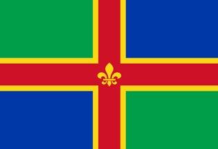 Drapeau Lincolnshire
